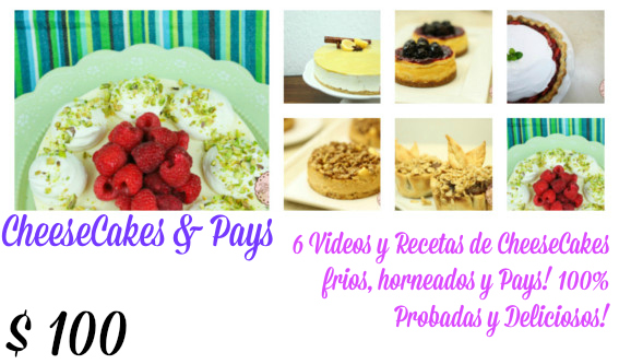 CheeseCakes y Pays!